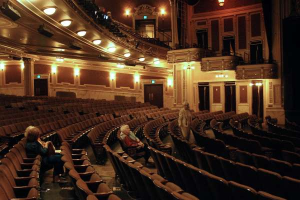 Inside the Hippodrome Theater